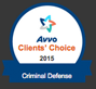 Avvo Clients Choice 2013 Badge